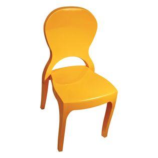 Cadeira-Nicole-Sem-Braco-Amarela