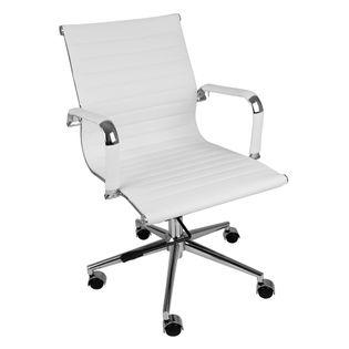 Cadeira-Sevilha-Cromada-Baixa-Branca